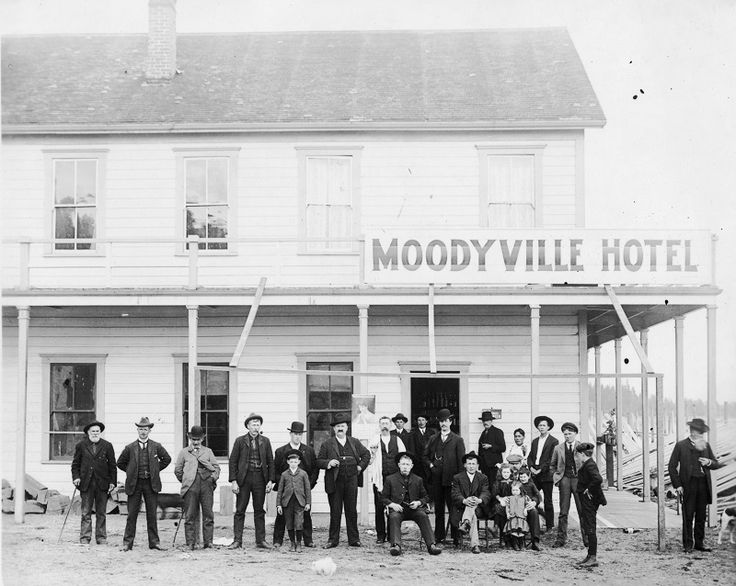 Moodyville Hotel 1800's, what would become North Vancouver