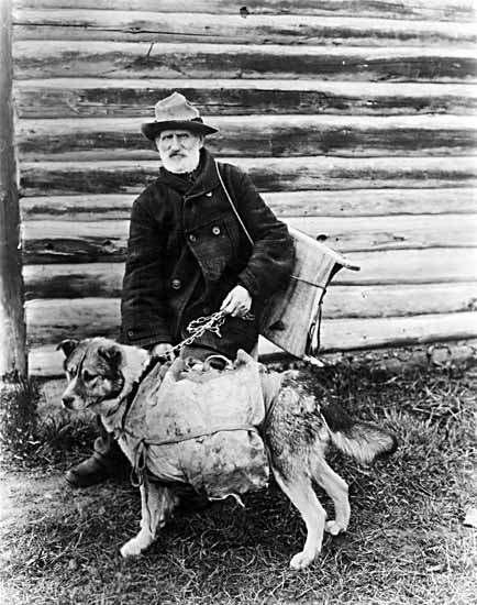 VPL #1268, unknown, no date, Yukoner and his dog